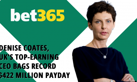 Denise Coates, UK's Top-Earning CEO Bags Record $422 Million Payday