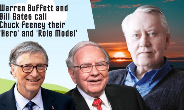 Warren Buffett and Bill Gates call Chuck Feeney their 'Hero' and 'Role Model'