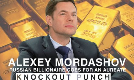 Alexey Mordashov, Russian Billionaire goes for an aureate knockout punch